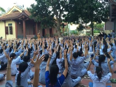 Ấn tượng với 7 ngày khóa tu mùa hè tại chùa Thao Chính