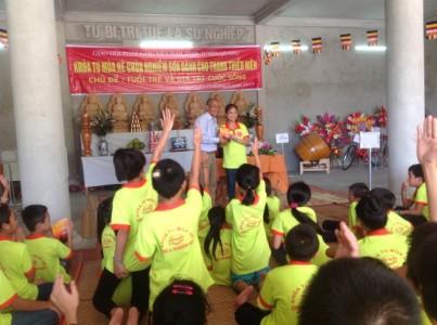 """Vài suy nghĩ sau thành công của khóa tu """"Tuổi trẻ và giá trị sống"""" tỉnh Tuyên Quang"""
