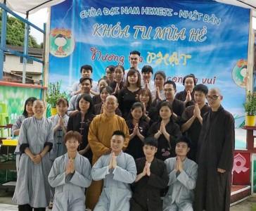 Nhật Bản: Khóa tu mùa hè 2019 tại chùa Đại Nam Himeji
