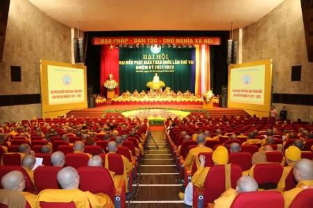 Khai mạc Đại hội Đại biểu Phật giáo toàn quốc lần thứ VIII