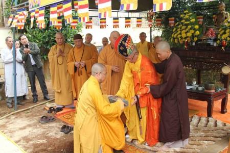 Gia Lai: Chùa Bửu Minh lễ đặt đá xây dựng nhà thờ Tổ
