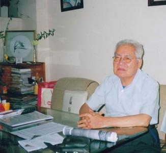 GS Huỳnh Bá Huệ Dương người phát hiện, di dời hài cốt Liệt nữ Quách Thị Trang đã ra đi