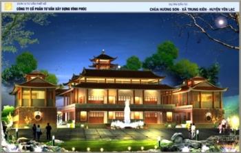 Tâm thư vận động xây dựng chùa Hương Sơn Vĩnh Phúc