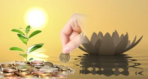 Quan điểm làm giàu của người Phật tử như thế nào?