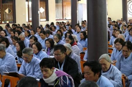 Đại lễ khánh đản Đức Phật A Di Đà năm Kỷ Hợi tại chùa Hòa Phúc