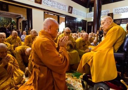 Lễ khánh tuế Hòa thượng Thích Thanh Từ bước sang tuổi 93