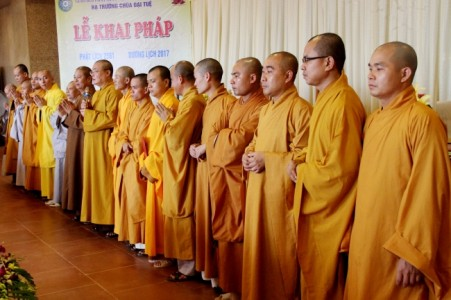 Phật giáo Nghệ An sơ kết Phật sự và ra mắt nhân sự các ban trực thuộc