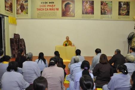 Hòa thượng Thích Bảo Nghiêm thuyết giảng tại chùa Xã Tắc - Quảng Ninh