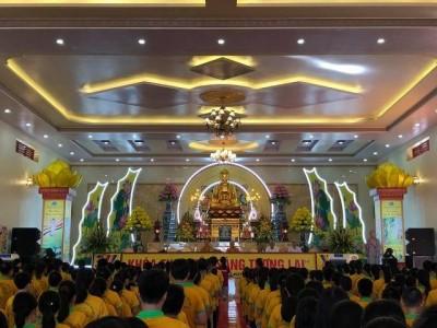 Chùa Diên Phúc, chùa Trường Phúc, chùa Hòa Lạc tổ chức khóa tu mùa hè