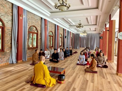 Khóa tu 'Thiền và Doanh nhân' khơi nguồn sự sống cho chủ doanh nghiệp