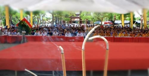 Hà Tĩnh: Vu lan báo hiếu, tưởng niệm chư vị Tổ sư tại chùa Thanh Lương