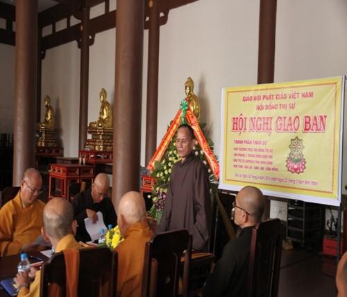 Hội nghị giao ban Phật giáo các tỉnh Tây Nguyên
