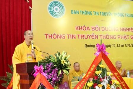Thấy gì qua hai khóa tập huấn truyền thông Phật giáo