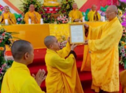 Thế nào là trụ trì một ngôi chùa được cho là hợp pháp