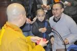 Ấm áp đêm giao thừa bên Đức Phật, bên Thầy...