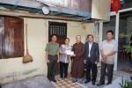 Đà Nẵng: Chùa Bà Đa - Báo Công an Tp hỗ trợ sửa chữa nhà cho gia đình có hoàn cảnh khó khăn