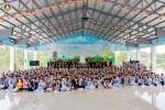 An Giang: Khóa tu tuổi trẻ 'vui trong ánh đạo' lần 4 tại chùa Vạn Linh, Núi Cấm,
