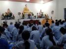 Hà Tĩnh: Đại đức Thích Chúc Huy giảng pháp tại chùa Yên Lạc