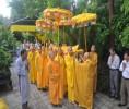 Huế: Lễ nhập kim quan cố Trưởng lão Hòa thượng Thích Huệ Ấn