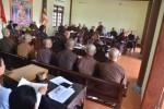 Hà Tĩnh: Lễ bố-tát, họp tổng kết công tác Đại hội đại biểu nhiệm kỳ III