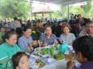 Tiệc buffet chay miễn phí mừng Phật đản PL.2561 tại chùa Nam Hòa