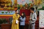 'Mẹ chồng' Lan Hương giao lưu tại lễ bế mạc khóa tu tuổi trẻ mừng năm mới
