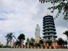 Bảo tháp Di Đà chùa Đại Giác công trình thế kỷ tại tỉnh Quảng Bình