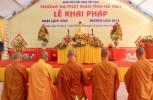Hà Tĩnh: Lễ khai pháp khóa An cư kiết hạ tại Trung tâm Văn hóa Phật giáo