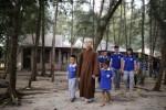 Chương trình tu tập thiện nguyện tại Bà Rịa Vũng Tàu của đạo tràng Mây Lành