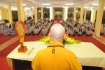 Hòa thượng Thích Bảo Nghiêm thuyết giảng tại chùa Pháp Vân