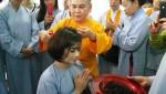 Hoa hậu Bích Liên chính thức xuống tóc đi tu tại Phan Thiết