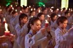 Chùm ảnh đẹp lễ vía Đức Phật A Di Đà tại chùa Hoằng Pháp