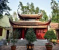 Ngôi chùa không có hòm công đức, và pho tượng nhục thân thiền sư nổi tiếng