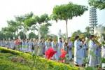 Ngày đầu tiên của khóa tu Tịnh Độ tại chùa Bằng