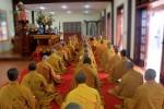 Hà Tĩnh: Lễ Bố Tát tụng giới tại Trung tâm Văn hóa Phật giáo
