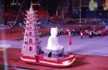 Nhớ SEA Games 26 với hình ảnh Đức Phật, tháp Phước Duyên chùa Thiên Mụ của đoàn thể thao Việt Nam