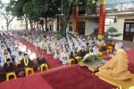 Hà Nội: TT Thích Chân Tính thuyết giảng tại ngày tu Bát quan trai