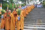Hà Tĩnh: Lễ rước rước kim thân tôn tượng Phật về TT Văn hóa Phật giáo