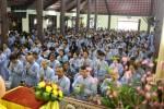 Hà Nội: Lễ quy y Tam Bảo tại chùa Hòa Phúc