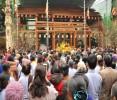 Hà Nội: Lễ thượng lương Đại hùng bảo điện, đúc đại hồng chung chùa Bằng