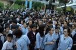 Gần 4000 người 'đội mưa' về chùa Hòa Phúc tham dự đại lễ Vu lan