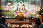 Hà Nội: Đêm hội hoa đăng kính mừng Đức Phật Thích Ca thành đạo