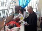Chùa Nghĩa Hương trao tặng hơn bốn trăm phần quà cho bệnh nhân nghèo