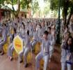 Hà Nội: 500 bạn trẻ tham dự khóa tu mùa hè 'Theo Phật, con an vui'