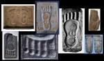 Các họa tiết dưới dấu chân Phật (Buddhapada, Buddha Footprint)