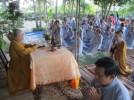 """Khóa tu """"Một ngày an lạc"""" lần thứ 8 tại chùa Mỹ Quang"""