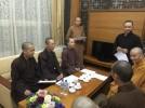 Phú Thọ: BTS Phật giáo tỉnh tiếp phái đoàn Ban Hướng dẫn Phật tử TW