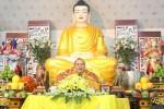 Đại đức Thích Tâm Quán thuyết giảng tại chùa Hòa Phúc