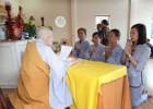 Hà Tĩnh: Lễ Quy y Tam bảo tại chùa Yên Lạc