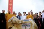 Lễ đặt đá xây dựng chùa Tân Thanh địa đầu Tổ quốc